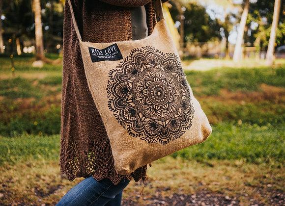 Rice Love Crossbody Bag - Mandala