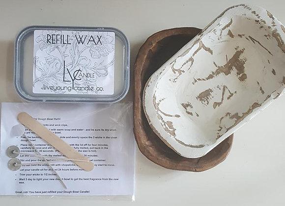 Dough Bowl Refill Kit-  fits 3-wick dough bowls