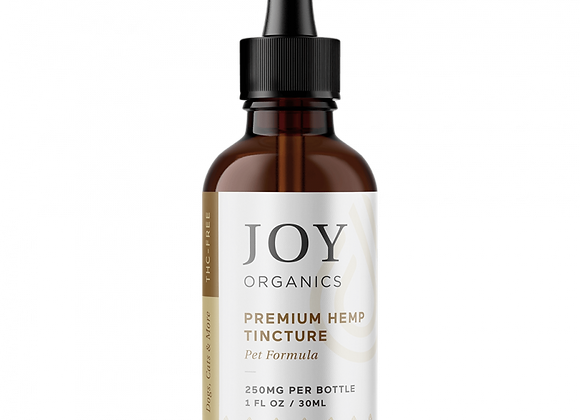 CBD Pet Tincture (Natural)-Joy Organics 250mg
