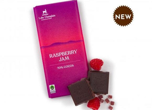Lake Champlain Raspberry Jam Dark Chocolate Bars