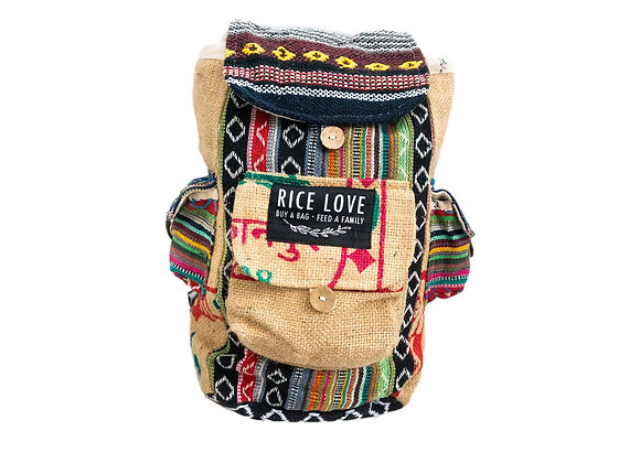 Rice Love Mini travel back pack - #Mumbai style