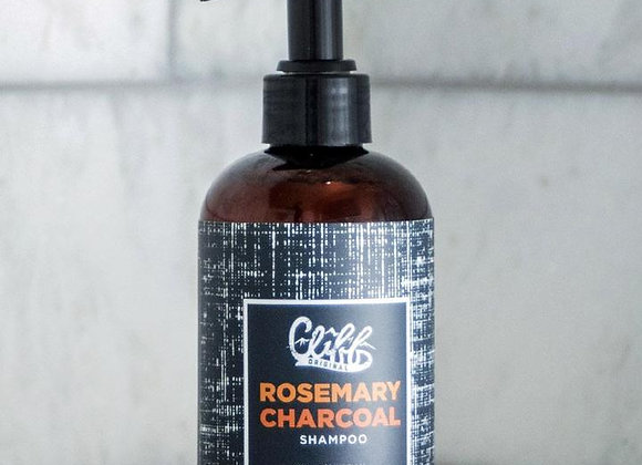 Cliff Original Rosemary Charcoal Shampoo 8 oz.