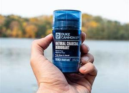 Duke Cannon Natural Charcoal Deodorant Fresh Water & Neroli