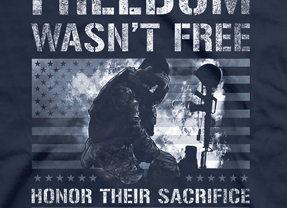 Men's Freedom Wasn't Free Tee Shirt