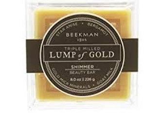 Beekman Lump of Gold 8 oz Shimmer Bar