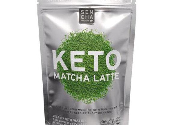 Sencha KETO Matcha Latte - Silver Pouch 6.4oz