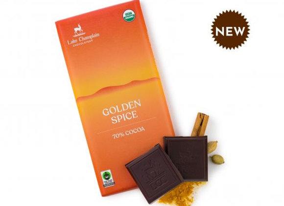 Lake Champlain Golden Spice 70% Cocoa Bar