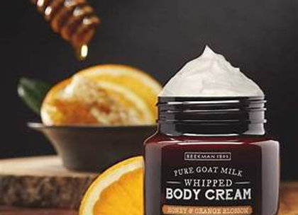 Beekman Honey Orange Blossom 8oz Whipped Body Cream