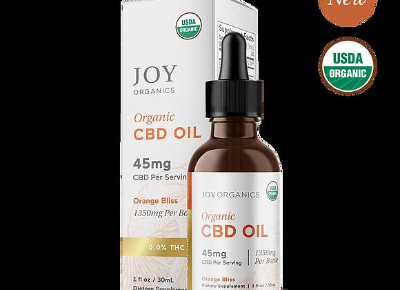 Joy Organics CBD Tincture  - 45mg CBD per serving