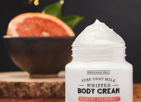 Beekman Honeyed Grapefruit 8oz Whipped Body Cream