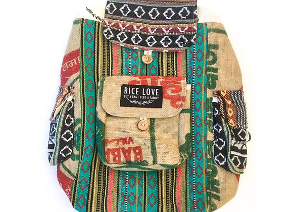 Rice Love Full Size back pack - #KOCHI Style