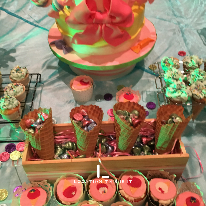 Table de dessert