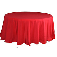 Nappe ronde polyester