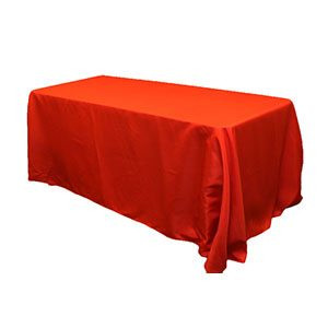 Nappe rectangulaire polyester