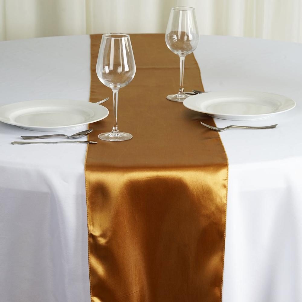 Chemin de table polyester