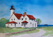 Pt Iriquois Lighthouse