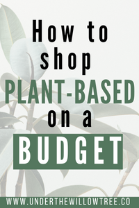 How to Shop Plant-Based on a Budget