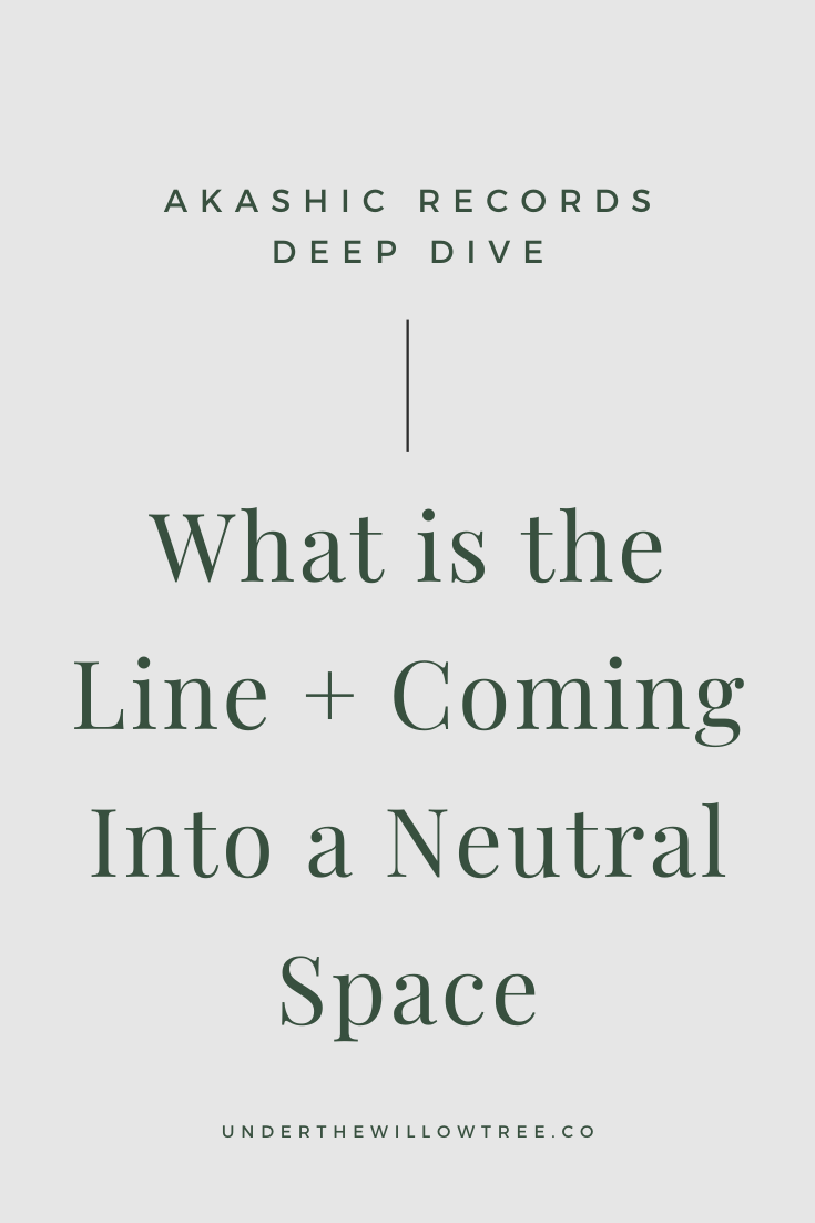 What is the Line + Coming Into a Neutral Space