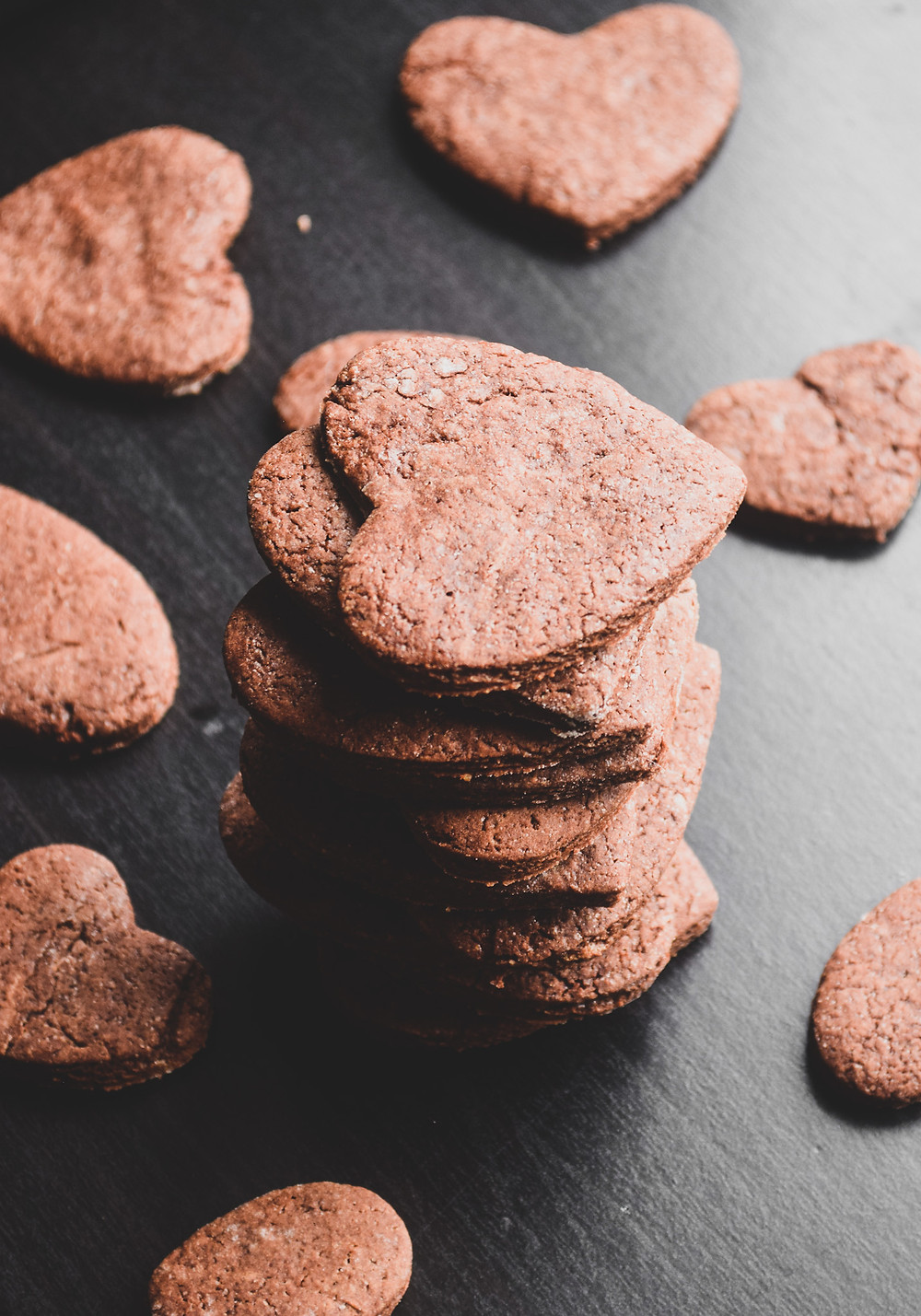 Easy Vegan Chocolate Sugar Cookies