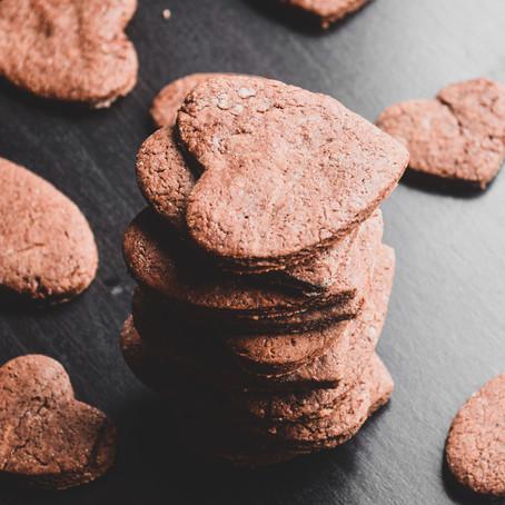 Easy Vegan Chocolate Sugar Cookies