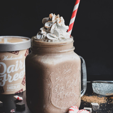 Vegan Frozen Hot Chocolate