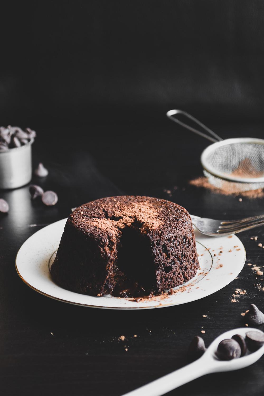 Vegan Lava Cake easy