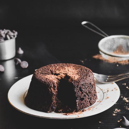 Vegan Lava Cake