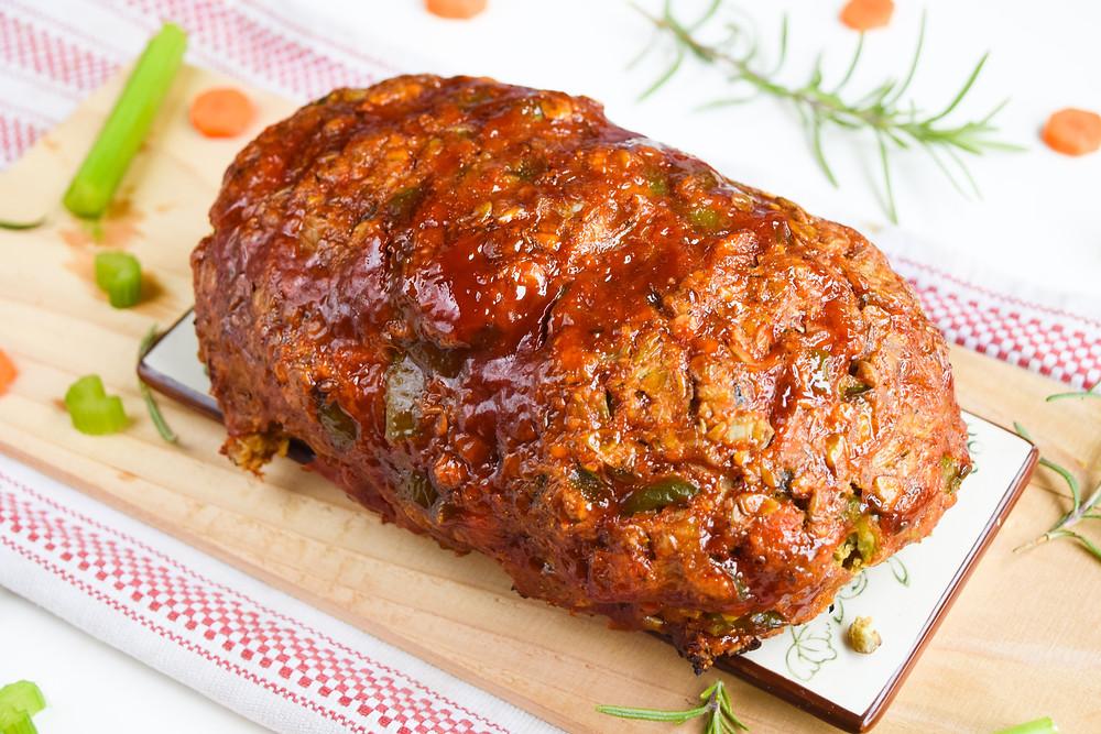 Easy & Vegan Lentil Loaf