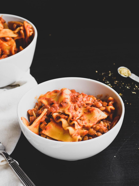 InstaPot Vegan Lasagna (Quick & Easy)