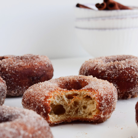 Vegan Apple Cider Donuts (Baked or Fried)