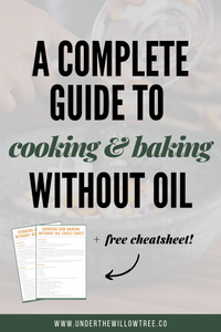 How to Cook and Bake Without Oil