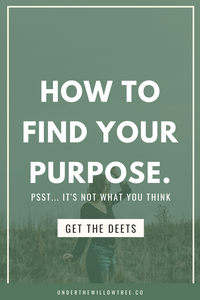 Episode 10: Your Purpose is Fluid, Not Fixed. What is your Purpose & How to Find It