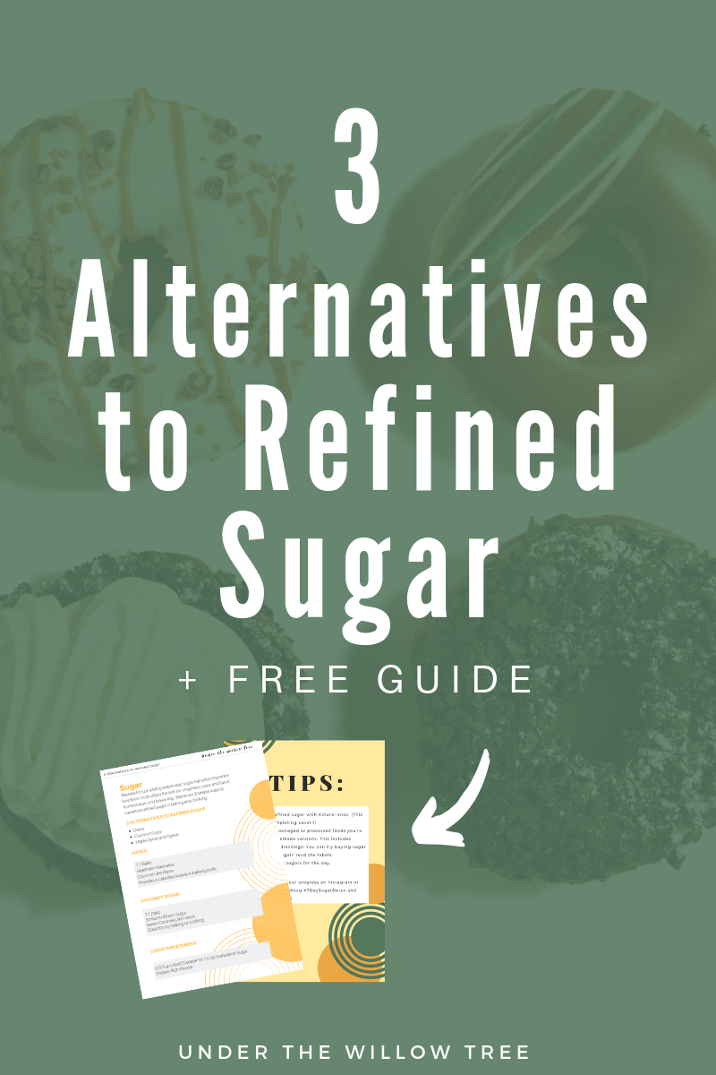 3 Alternatives to Refined Sugar