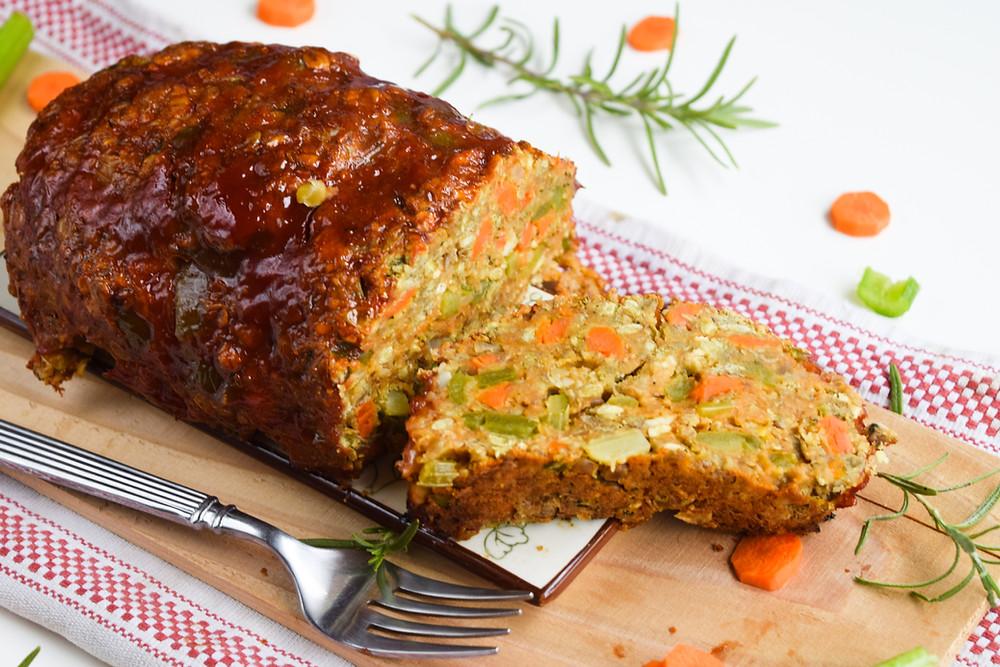 Vegan Lentil Loaf (Gluten-Free)