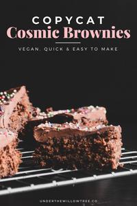 Copycat Cosmic Brownies (vegan)