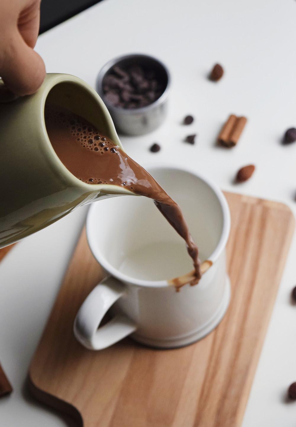 Chai Hot Cocoa (Vegan + Dairy-Free)