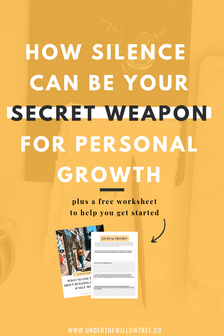 How Silence Can Be Your Secret Weapon to Personal Growth