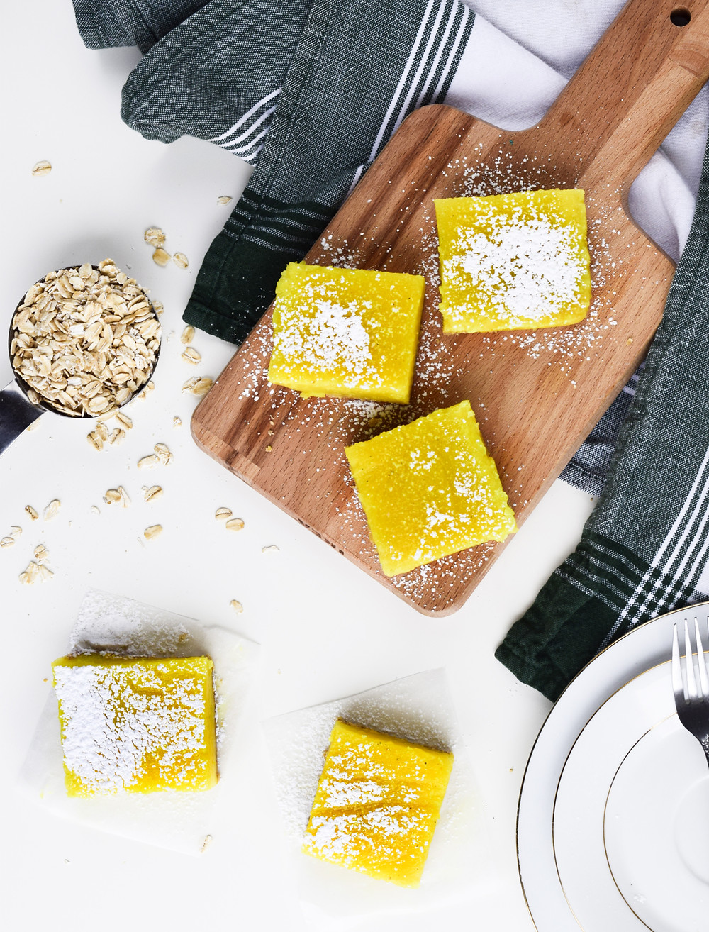 Lemon Bars (Gluten-Free, Vegan, Eggless)