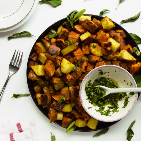 Curry Roasted Potatoes