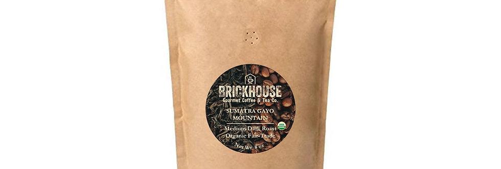 Sumatra (Gayo Mountain) Organic Fair Trade Coffee (Medium Dark)