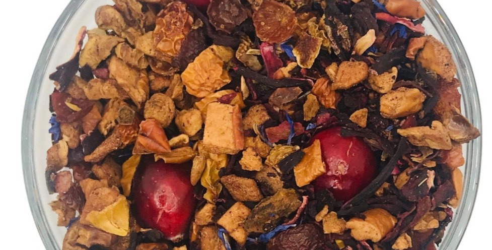 Cranberry Apple Tisane Tea - Seasonal Blend