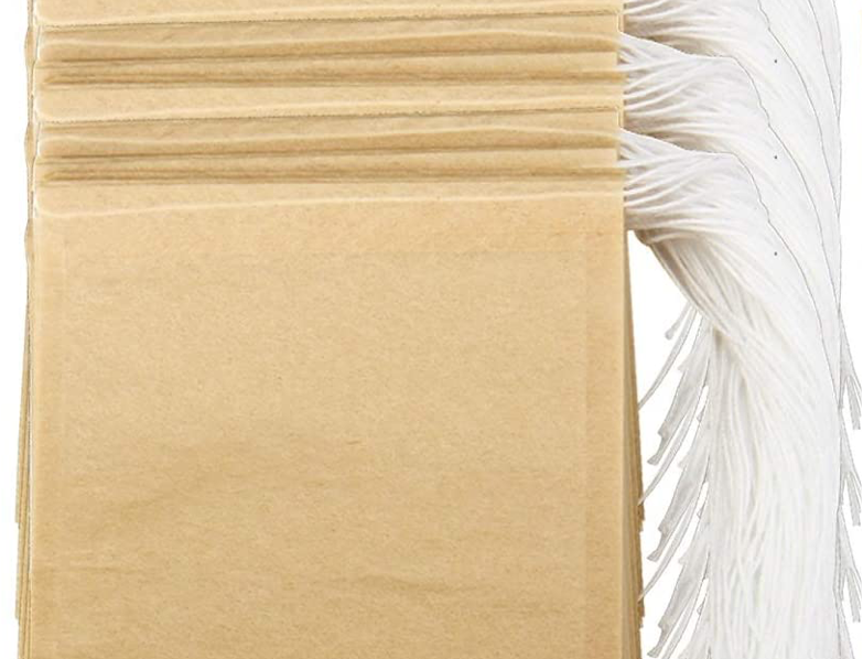 On The Go - Natural Kraft Disposable Tea Bags