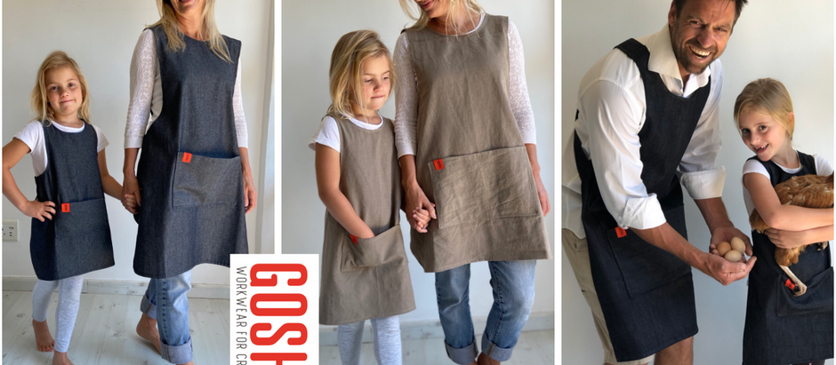 New range of Japanese Crossover Aprons