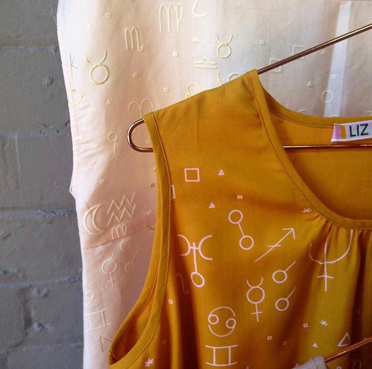 Screen printed fabrics for fashion