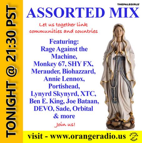 ORANGE RADIO TONIGHT AT 21:30 PST