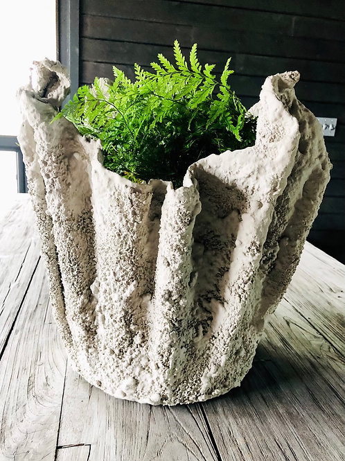 Custom Concrete Planters