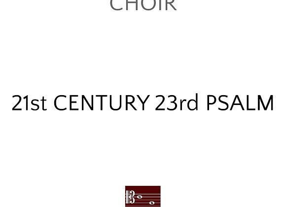 21st Century 23rd Psalm