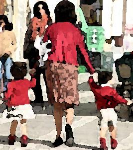 Padres,  parejas e hijos