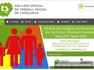 TSCAT, Col·legi Oficial de Treball Social de Catalunya se adhiere a PZF