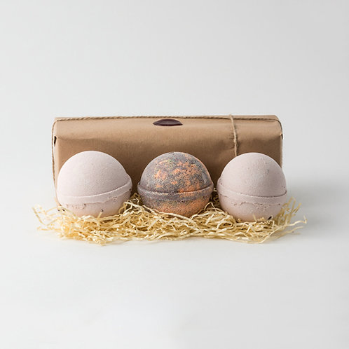 Latte, Chocolate Orange & Latte Jumbo Bath Bombs